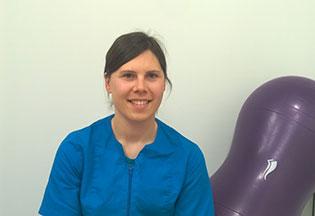fisioterapeuta Lorena Iglesias