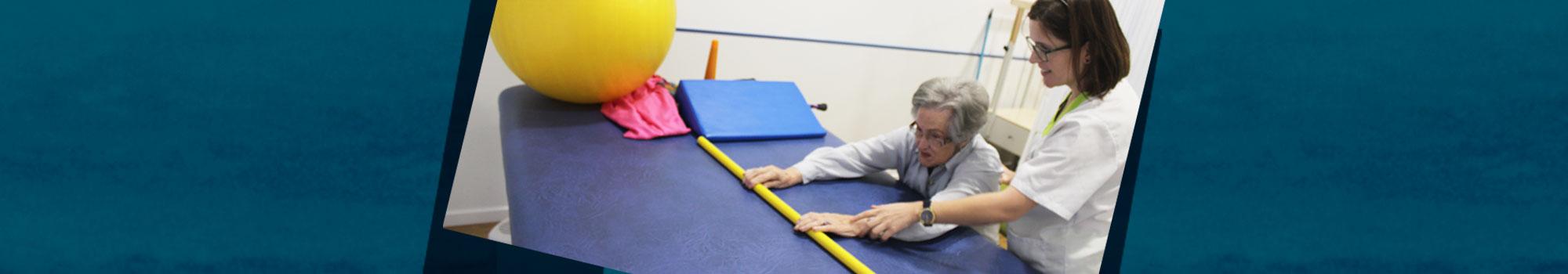 Rehabilitación en ancianos