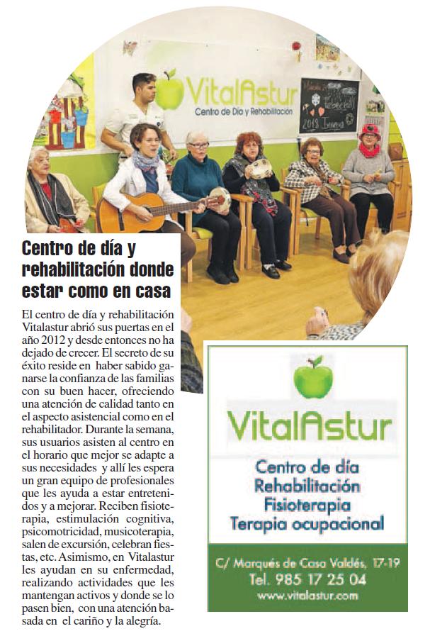 Blog del centro de día VitalAstur en Gijón