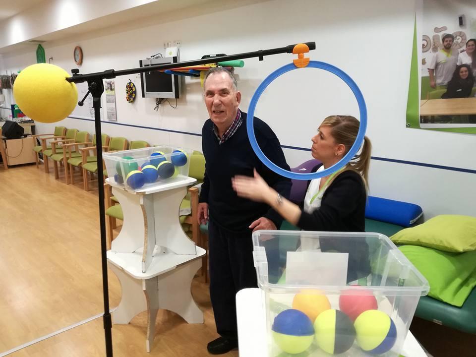 rehabilitación y gimnasia para mayores